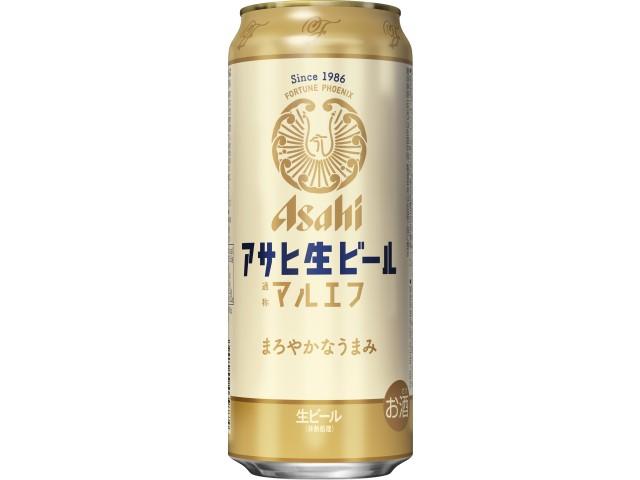 アサヒ生ビール缶500ml
